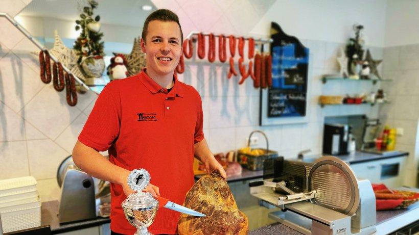 Chris Neumann aus Olsberg ist NRWs bester Fleischergeselle - Westfalenpost