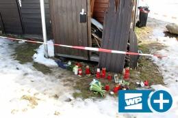 Polizei untersucht das Unglücks-Schneemobil in Winterberg