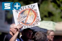 Rabiate Szene im HSK: Rechte Hetze und Verschwörungstheorien