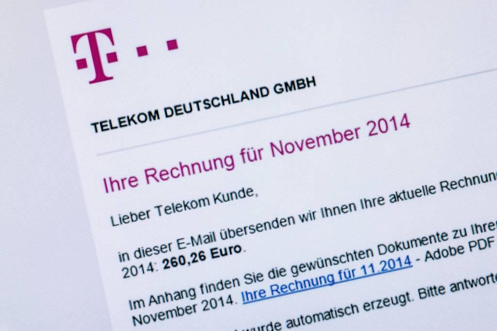 Deutsche Telekom Falsche Rechnungen Im Umlauf Wpde Leben