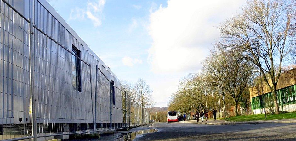 Realschule Am Bleichstein der erste wohncontainer für flüchtlinge steht wp de herdecke wetter