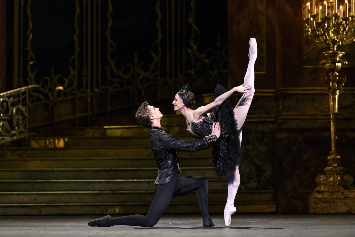 Image result for swan lake royal house opera dancers