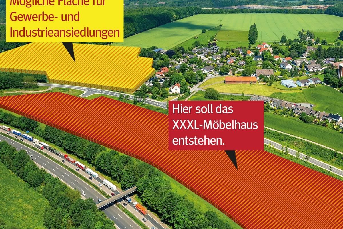 Möbel Riese Xxxl Stellt In Hagen Bauantrag Für Zwei Märkte Wpde