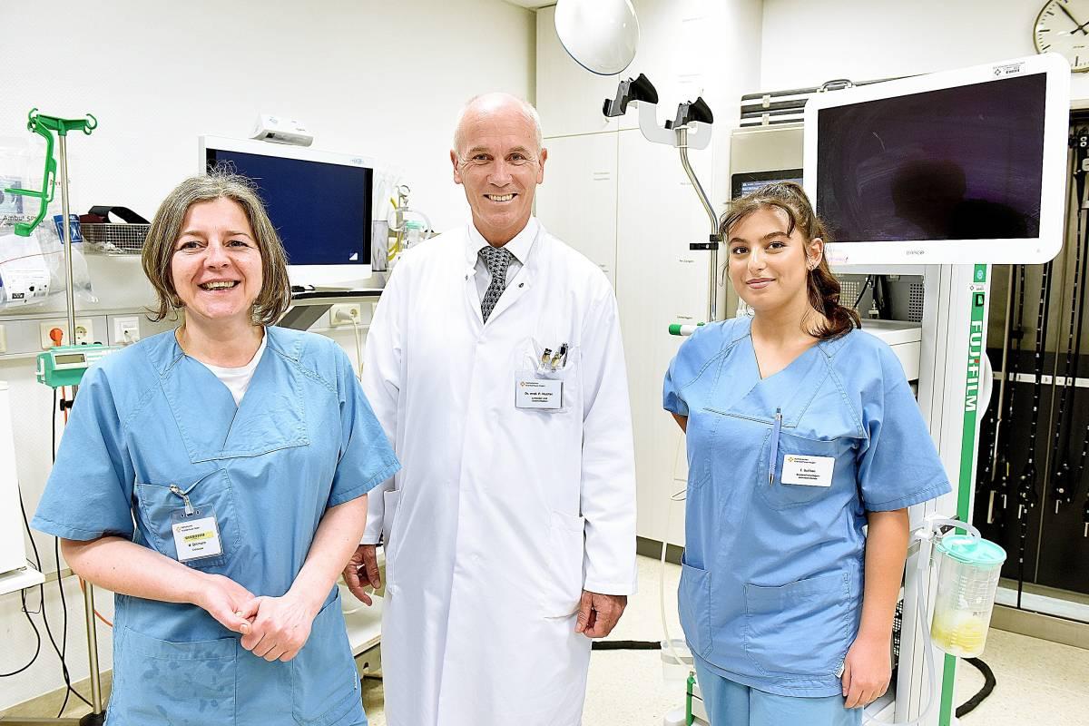 Dr Philipp Mueller Chefarzt Am Krankenhaus In Hagen Boele Wpde