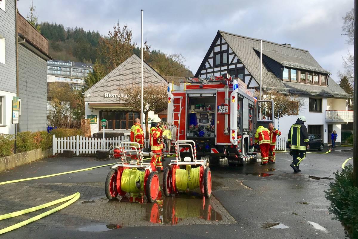 Feuerwehr Muss Wegen Gas Alarm In Einer Gaststätte Ausrücken Wpde