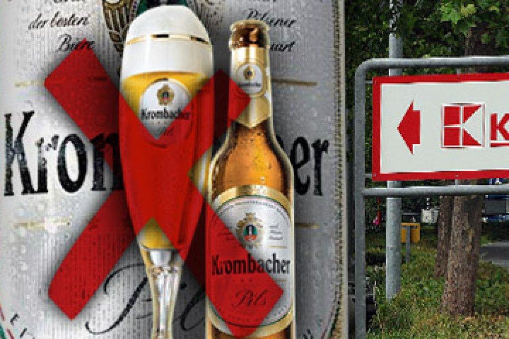 """Krombacher sitzt nach Kaufland-Rausschmiss """"auf der Strafbank""""   wp ..."""