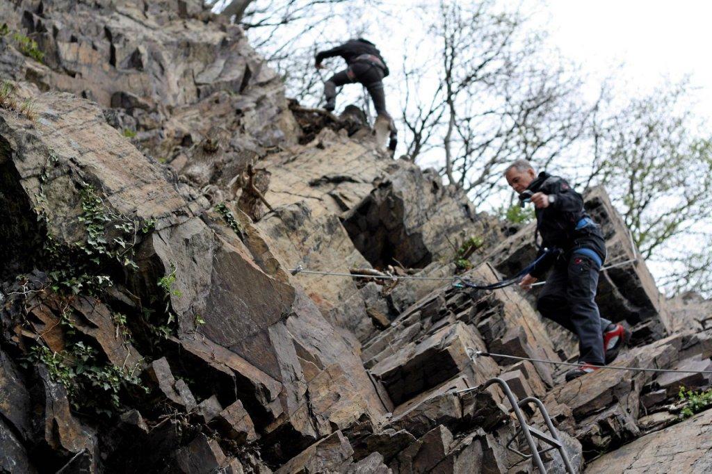 Klettersteig Usa : Alpin feeling am lenneufer klettersteig eingeweiht wp.de daten