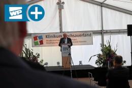 Warum Laumann das Klinikum Hochsauerland als Vorbild lobt