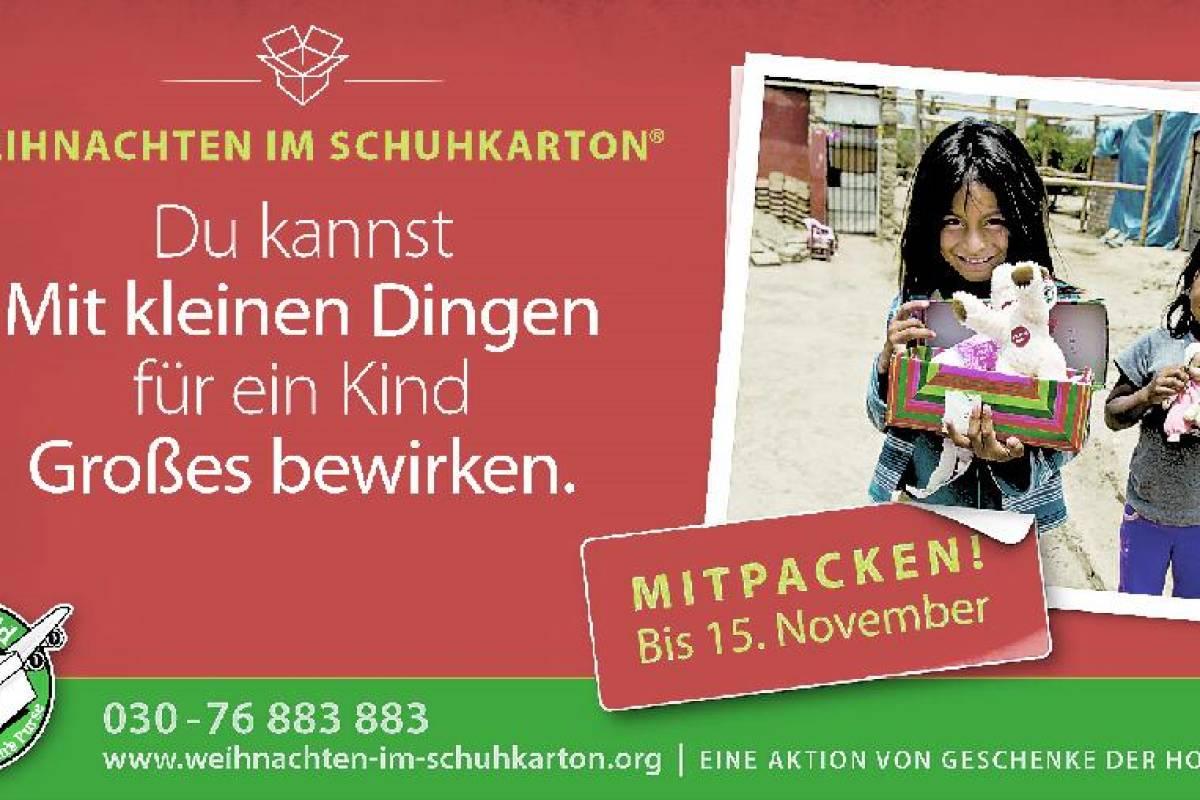 Weihnachten Im Schuhkarton Org.Aktion Weihnachten Im Schuhkarton In Menden Auf Der Kippe Wp De