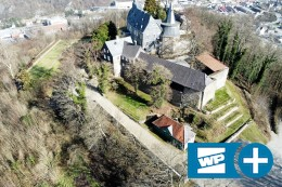 Schloss Hohenlimburg: Eingang mit Drehkreuz in Planung