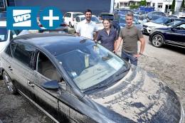 Autohaus in Hagen: Jahrhundertflut zerstört 200 Autos