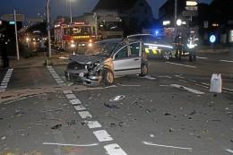 Hagen: Autos krachen zusammen – zwei Verletzte