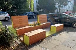Hagen: Mobile Terrassen sollen Straßen verschönern