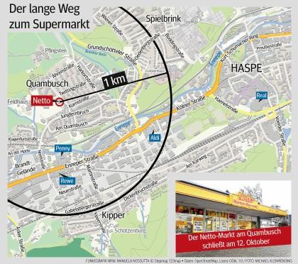 Wie andere Hagener Viertel: Der Quambusch wird abgehängt ...