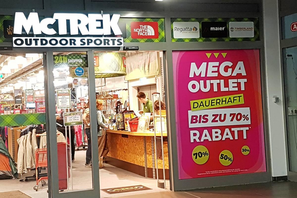 Hagen: McTrek Filiale an der Schwenke ist Outlet geworden