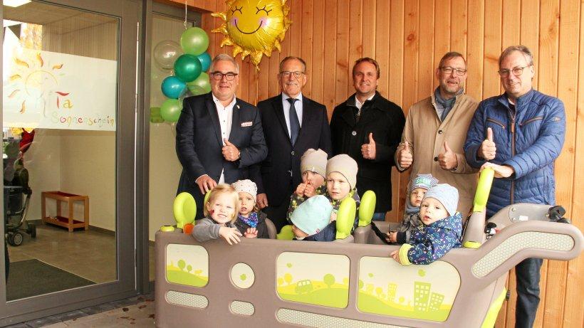 Kita Sonnenschein in Olsberg öffnet feierlich ihre Türen - Westfalenpost
