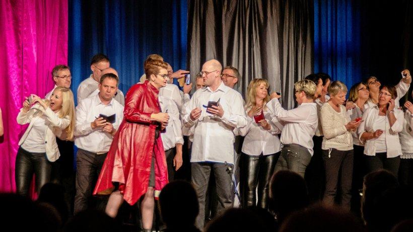 """So verlief die Premiere des Musicals """"Mensch"""" in Winterberg - Westfalenpost"""