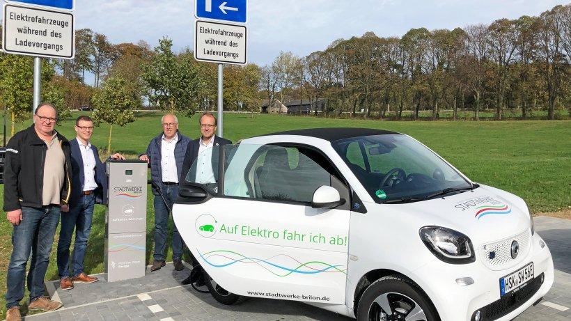 Stadtwerke Brilon treiben Ausbau der Elektromobilität voran - Westfalenpost