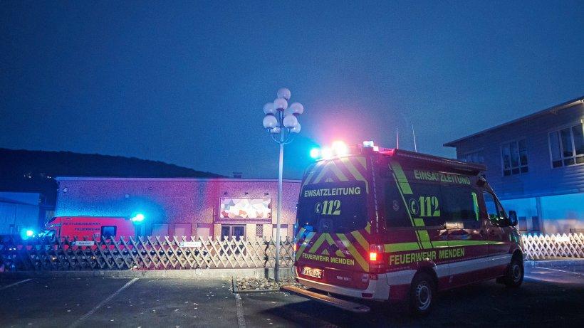 Sirenenalarm: Brand in Halle an der Siemensstraße in Menden - WP News