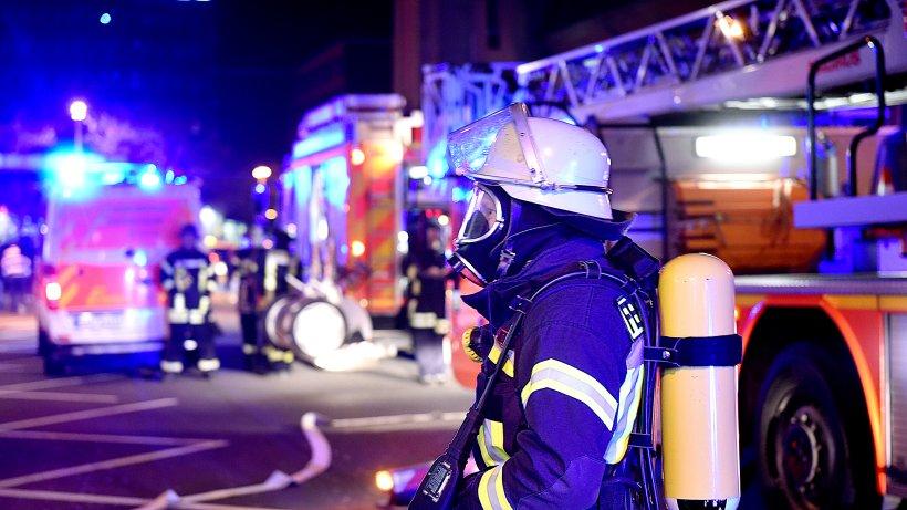 Nächtliches Feuer in Olper Hausflur schnell gelöscht - Westfalenpost