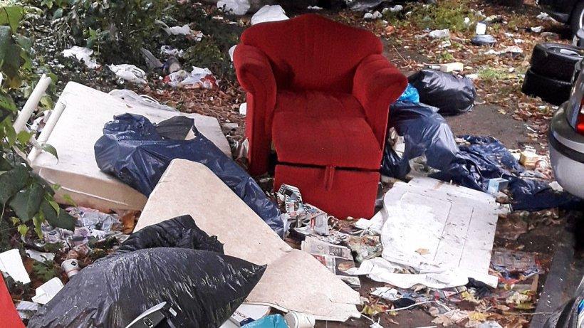 Möbel illegal entsorgt: Waste Watcher schlagen in Hagen zu - Westfalenpost