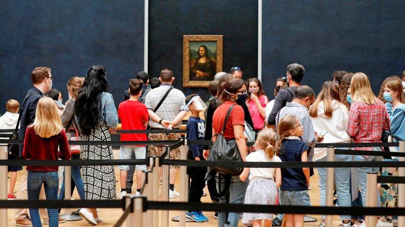 Corona-Schranken: Jetzt in Schlangen zu Mona Lisa im Louvre