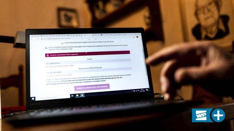 Impftermin: Senioren in Witten erreichen Hotline nicht