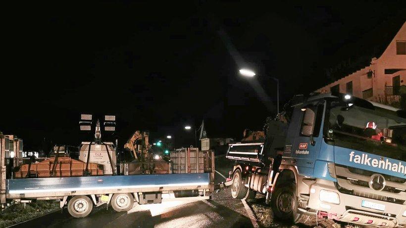 B 236 bei Lennestadt nach Glatteis-Unfall wieder frei - WP News