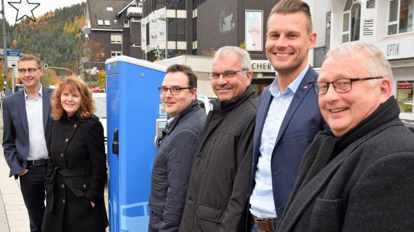 Neue Ladesäulen in Lennestadt: Rückenwind für E-Mobilität - WP News
