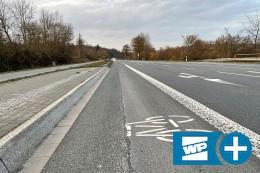 Radweg-Rückbau an B7 vergessen: Tempo-Limit überflüssig?