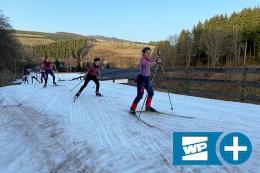 Trotz Corona und Frühling wieder Skilanglauf in Westfeld