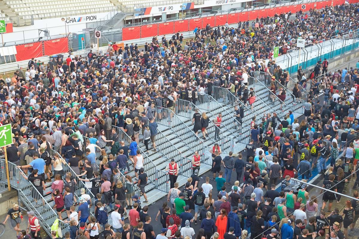 Festival Rock Am Ring 2017 Wegen Terrorgefahr Unterbrochen Wpde