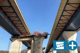 Lennetalbrücke in Hagen: Wie man 30.000 Tonnen verschiebt