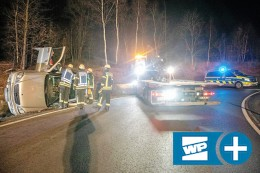Freudenberg: SUV-Fahrer mit zwei Promille – Unfall