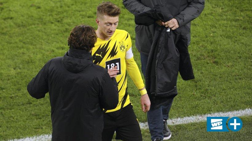 Borussia-Dortmund-BVB-Trainer-Edin-Terzic-nimmt-Kapit-n-Marco-Reus-in-Schutz