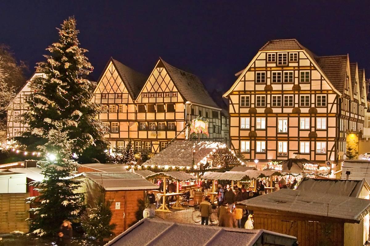 Soester Weihnachtsmarkt In Historischer Kulisse Der Altstadt