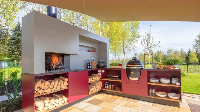 Outdoorküche Mit Spüle Wechseln : Outdoorküche u2013 draußen grillen und kochen mit komfort wp.de wohnen